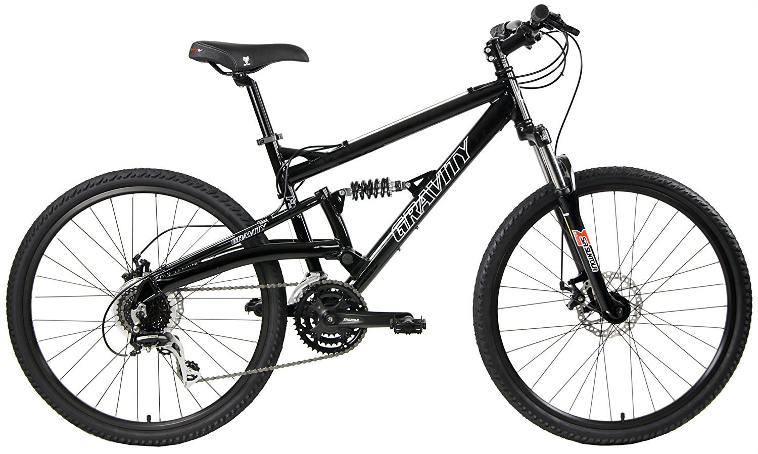 gravity fsx 1.0 dual full suspension mountain bike review